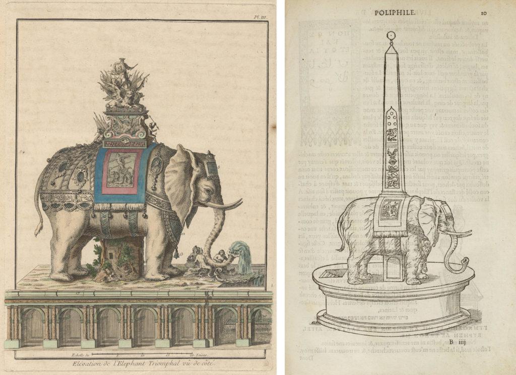 mieux aimé 0a3f6 9bcb4 Monstrous Assemblage: Ribart's Elephant Monument to Louis XV ...
