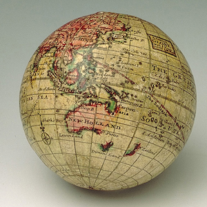 Handheld Cartography: Herman Moll's Pocket Globes and Speculative Capital in the 1710s