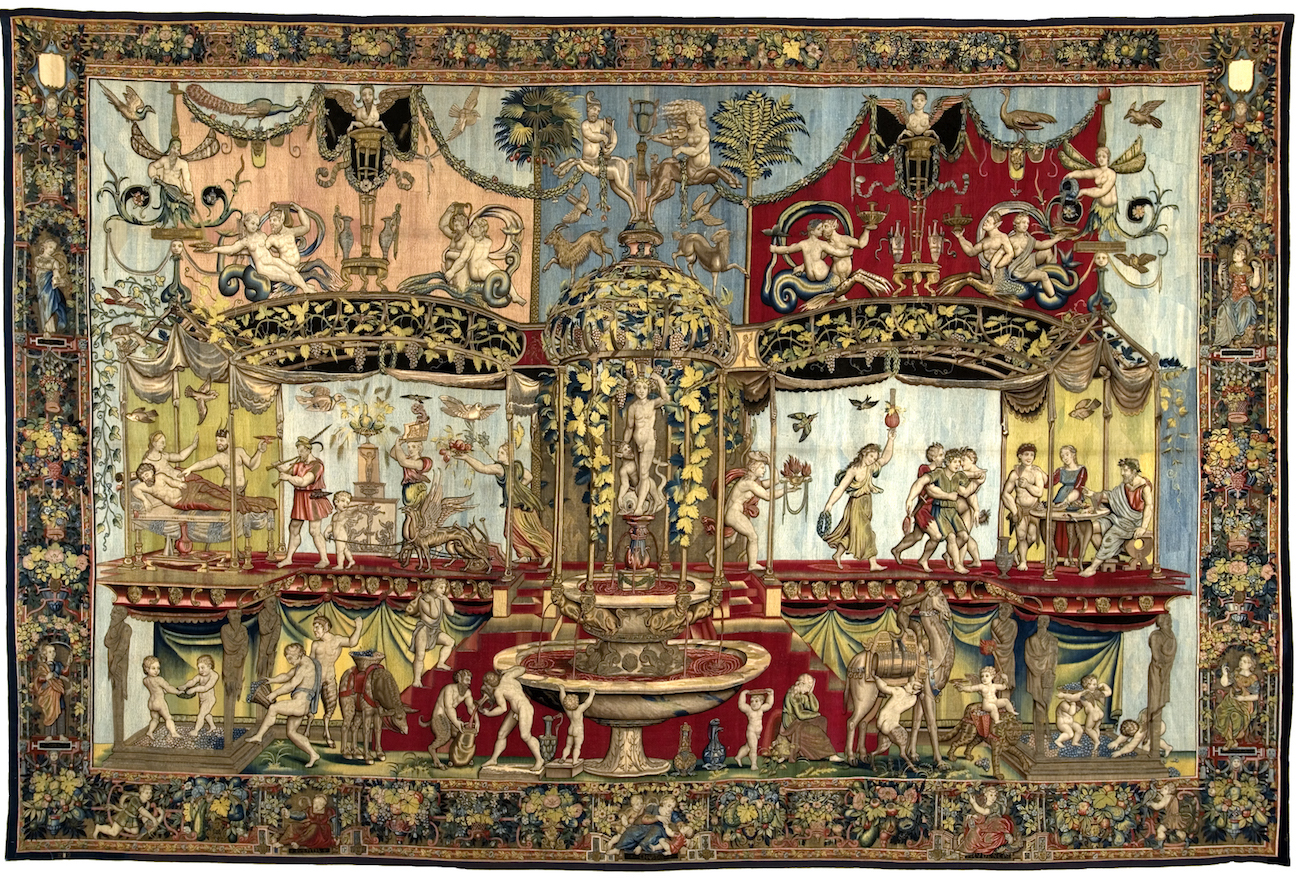 Woven Gold Tapestries Of Louis Xiv By Robert Wellington