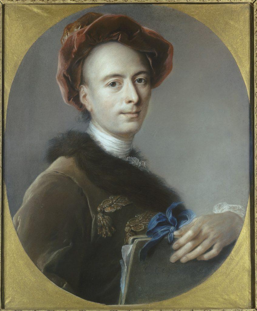 Fig. 6. Charles Coypel, Self Portrait, 1739. Pastel, 65 x 53 cm. Musée des Beaux-Arts, Orléans. © Musée des Beaux-Arts, Orléans.