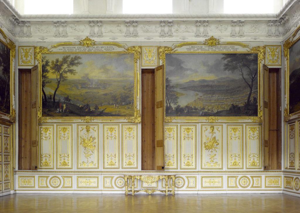 Fig. 8. Viktoriensaal at Schleissheim (cabinets opened). Photo: © Bayerische Schlossverwaltung, Munich.