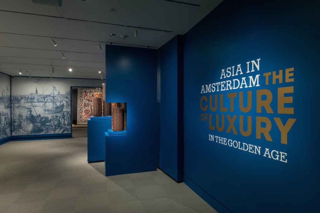 Fig. 1 Installation view of Asia in Amsterdam: The Culture of Luxury in the Golden Age, 2016. © Photo by Allison White.