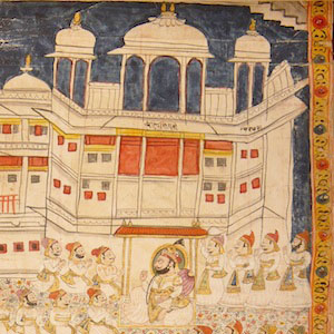 Marginal, Mobile, Multilayered: Painted Invitation Letters as Bazaar Objects in Early Modern India