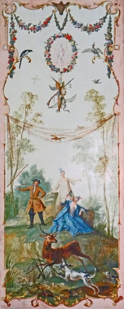 Fig. 17. Jean-Baptiste Oudry, Arabesque (La Chasse from the château de Voré), oil on canvas, c. 1720 – 1723. Musée du Louvre, Paris. Image: Wikimedia Commons.