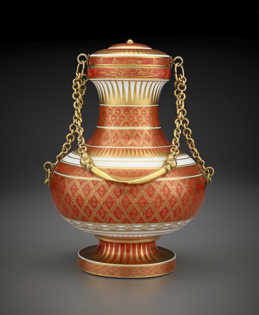 Fig. 1. Vase Japon, Sèvres porcelain manufactory, 1774, The Frick Collection, New York, Purchase in Honor of Anne L. Poulet, 2011 (2011.9.01) © The Frick Collection.