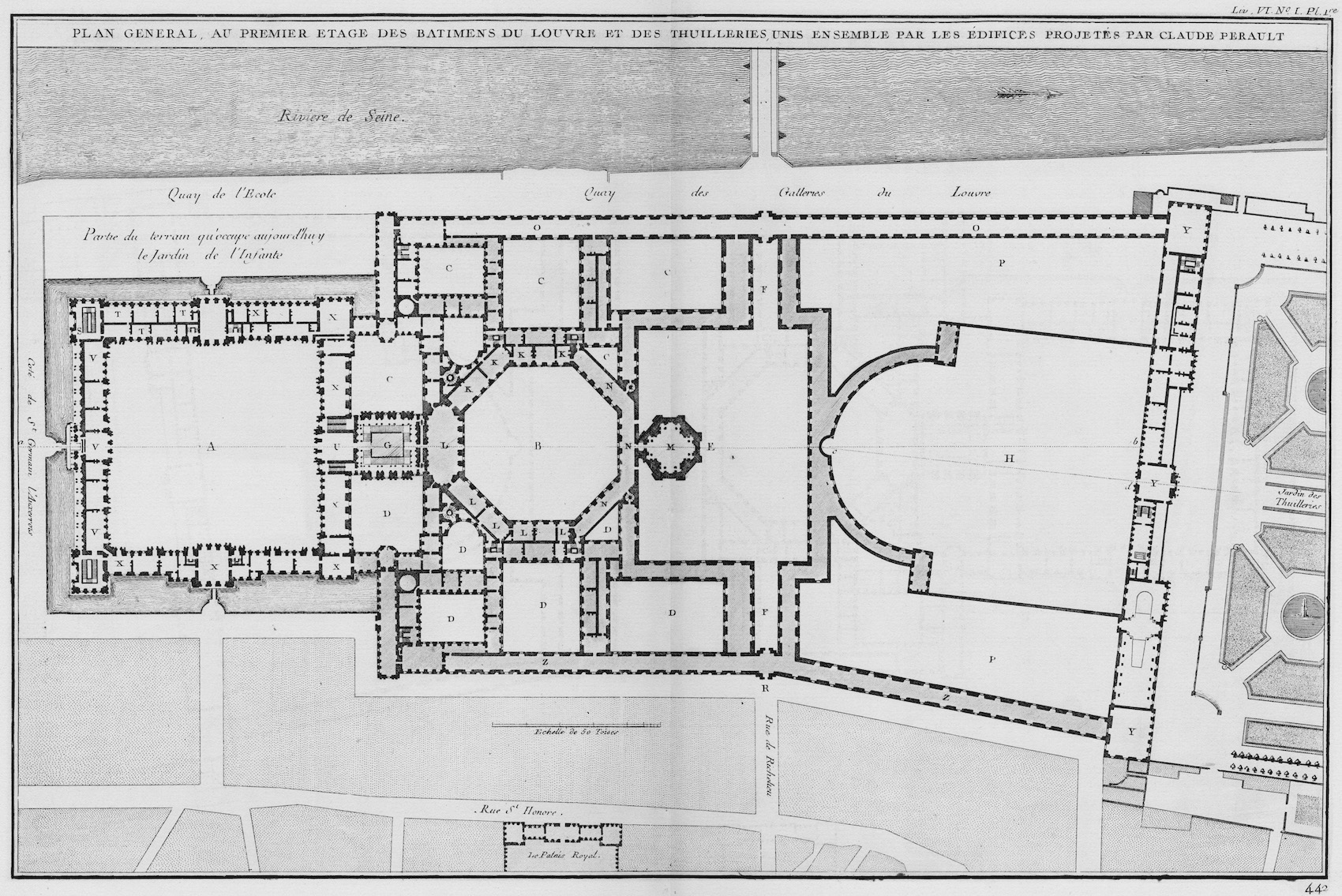 A Plan Of The Louvre S Cour Carrée And The Making Of The Architecture Française Journal18 A Journal Of Eighteenth Century Art And Culture