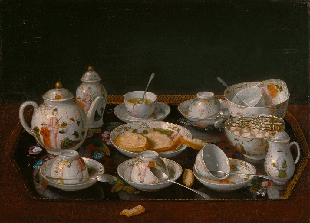 Jean-Etienne Liotard, Still Life with tea set, c.1781-83 (The J. Paul Getty Museum, Los Angeles). Photo courtesy of Getty's Open Content Program.