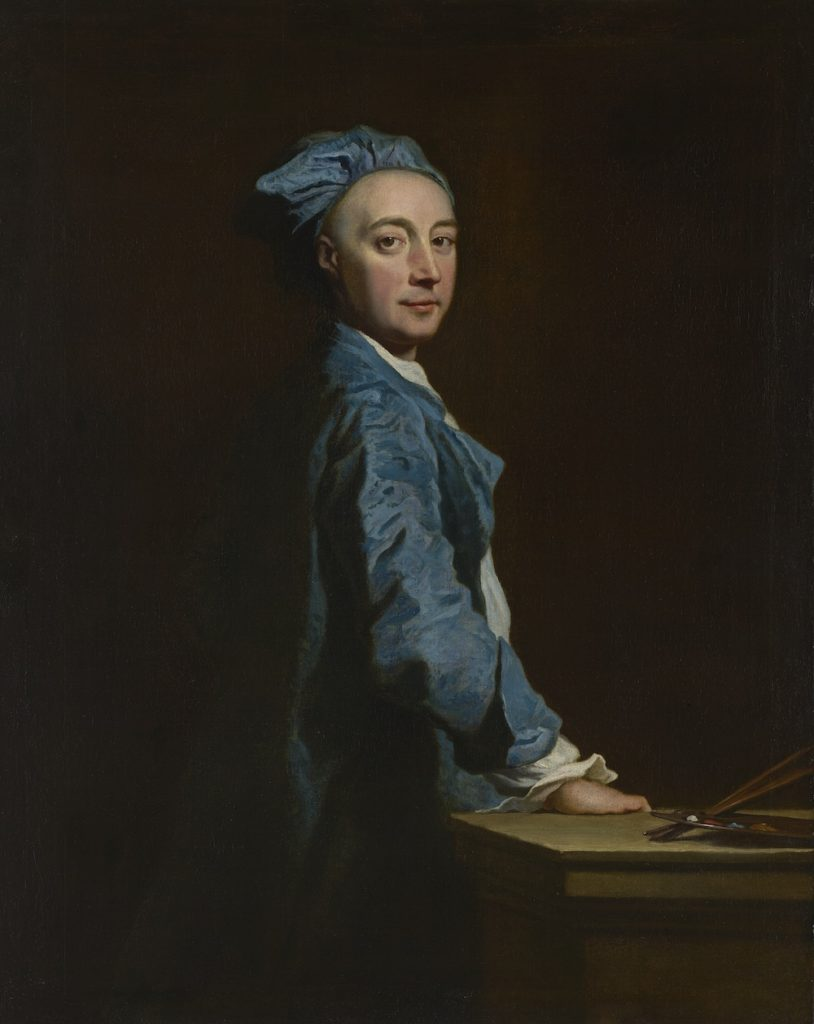 Fig.1. Joseph Highmore, Self-portrait, c.1730. Oil on canvas, 126.4 x 101 cm. Felton Bequest, 1947, National Gallery of Victoria, Melbourne. Image Courtesy of the National Gallery of Victoria.