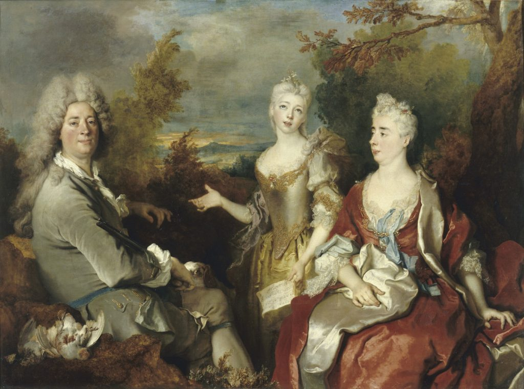 Fig.7. Nicolas de Largillière, Portrait of a Family, c.1730. Oil on canvas, 149 x 200 cm. Photo © RMN-Grand Palais (Musée du Louvre) / Gérard Blot.