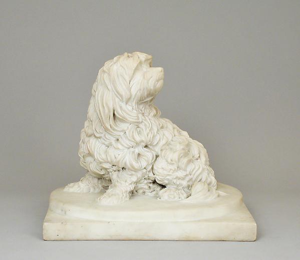 Anne Seymour Damer, Shock Dog, c.1782