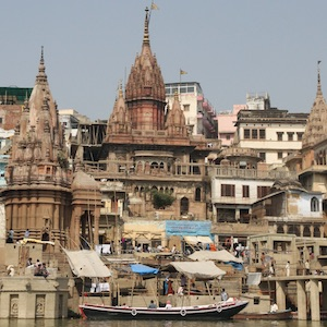 The Amethi Temple in Banaras: Architectural Encounters at a Pilgrimage Center